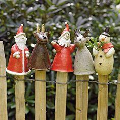 Weihnachts-Pfostenhocker *grins*