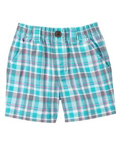 Plaid Shorts at Gymboree Collection Name: Bunnies and Gentlemen (2015)12-18m