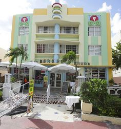 Classic South Beach Art Deco Hotel #realestate #miami #southbeach