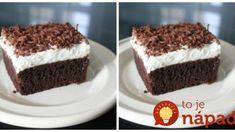 Bláznivý koláč z hrnčeka: Úžasný a extra rýchly koláč ku káve, tá piškóta prekvapí aj ostrieľaných cukrárov – chuť luxusná! Dessert Recipes, Desserts, Tiramisu, Food And Drink, Cake, Ethnic Recipes, Sweet, Tailgate Desserts, Candy