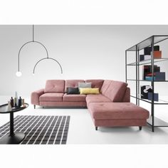 Tired of pretentious living rooms? This simple sofa is sure to be inviting and humble Modern Sofa, Living Room Modern, Modern Furniture, Living Rooms, L Shaped Couch, Simple Sofa, Sofa Frame, Classic Sofa, Vase