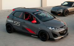 B-Spec: Honda, Mazda Create and Pitch Affordable Amateur Race Series - MotorTrend Mazda 2, Mazda Cars, Vehicle Signage, Super Pictures, Small Luxury Cars, Jaguar Xe, Honda Fit, Benz C, Sports Sedan