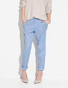 COLOURED CHINOS - Collection - TRF - SALE - ZARA United States