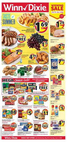 6f4ed17fb67 Browsing WinnDixie Weekly ad Flyer this week 30 Mei – 5 Juni 2018. Customer  will