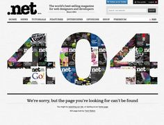 Create a 404 page with CSS3 animations | Tutorial | .net magazine