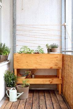 Die 51 Besten Bilder Von Hochbeete Trough Planters Backyard Patio