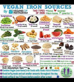 Wild Salt Spirit: Vegan Iron Sources