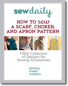 Free Accessory Sewing Patterns eBook, now with two new patterns!