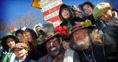 the annual Dickens Festival in Port Jefferson