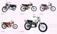 ヤマハバイク50年の歴史