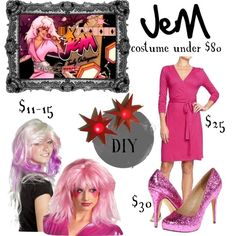 Jem costume for under $80. SOLD. It's...truly outrageous.