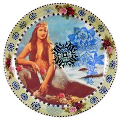 calu fontes • mermaid plate