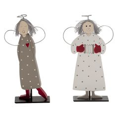 Wood Angel Decoration by Serholt Sweden Choose Playing or Singing Size: 6 in tall