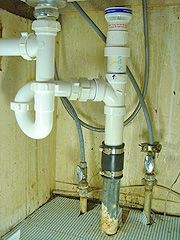 Intelligent Double Sink Drain Scheme Image Of Properly Installed Garbage Disposal For Double
