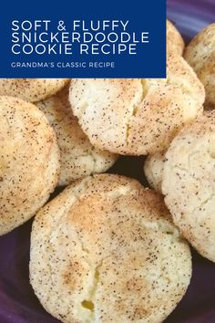 These are the best snickerdoodles I have ever eaten! Soft and fluffy this easy recipe will soon be your favorite. No cream of tartar or unusual ingredients needed. Perfect to make with kids!