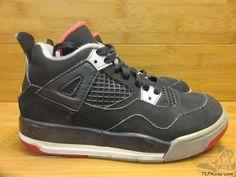 Vtg OG 2012 Nike Air Jordan IV 4 s sz 11.5c IX Bred Retro Chicago Black Red   #Jordan #Athletic #tcpkickz Air Jordan Iv, Jordan Boys, Toddler Shoes, Boys Shoes, Nike Air, Jordans, Chicago, Sneakers Nike, Athletic