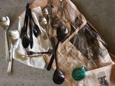 Oslo Versatile Cutlery Set in Matte Black: Flatware | Canvas Home