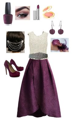 """""""Casual princess"""" by goddessofbacon ❤ liked on Polyvore featuring Chicwish, OPI, Clinique, Elizabeth Arden, Martick, Pour La Victoire and Sara Gabriel"""