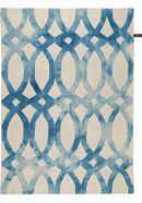 benuta NATURALS Wollteppich Dip Dye Blau 80x150 cm - Naturfaserteppich aus Wolle Dip, Home Decor, Wool, Salsa, Decoration Home, Room Decor, Home Interior Design, Home Decoration, Interior Design