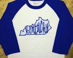 Kentucky Crew Neck Sweatshirt by SSewSweetMonograms on Etsy