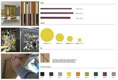 Colección Acoustic. Estrucutras realizadas con paneles rechapados de madera natural o mdf lacado, con aplicaciones textiles para reverberación y reducir acústicamente raclima.com