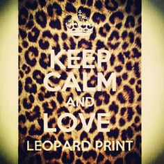Everyone & anyone who knows me knows that I am overly obsessed with leopard print. Haha