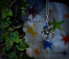 Elemental Water Fae by WitchsChamber on Etsy
