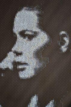 Dark Shadows Cross Stitch Portrait-Vicky Winters by JLCampbell