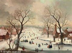 A Winter's Day, after Avercamp sold by Christie's, London, on Thursday, November 12, 2009