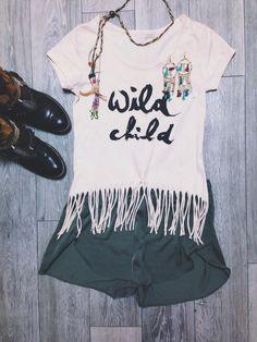 Wildchild shirt dyed with avocado