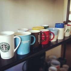 StarBucks mugs (I have a collection)