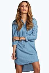 boohoo Denim Shift Dress - blue azz10872 No off-duty wardrobe is complete without a casual day dress. Basic bodycon dresses are always a winner and casual cami dresses a key piece for pairing with a polo neck , giving you that effortless eve http://www.comparestoreprices.co.uk/dresses/boohoo-denim-shift-dress--blue-azz10872.asp