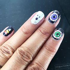 Halloween Nail Art - Jen Goode
