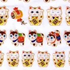 These are really cute Japanese stickers. Beckoning Cat (Maneki Neko in Japanese) on it. so cute!! These are perfect for scrapbooking, card making or any project you can think of!
