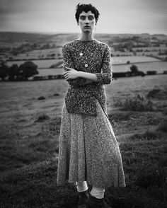 withoutstereotypes - Tweed: Christina Carey by Dima Hohlov for IO Donna october 2014