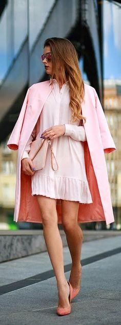 street style / wear pink