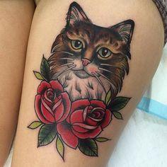 Melanie Milne's Tattoo | cat | #27011