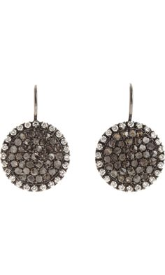 Roberto Marroni Black & White Diamond Sand Earrings