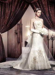 bridal gowns with sleeves | Royal Wedding Dresses by Takami Bridal | Wedding Inspirasi