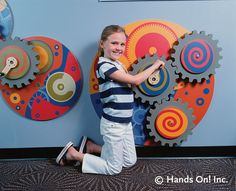 Wall Gears by Hands On! Inc., via Flickr