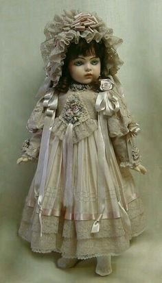 Not sure what kind of doll this is, but it reminds me of myself as a child. Except I didn't dress as snazzy.