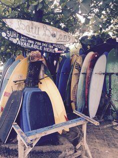 Surflessons in Canggu.