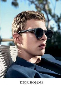 Leather Statement – Dior Homme Sunwear For Men