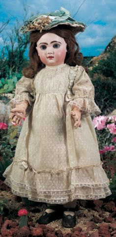 For the Love of Dolls, The Mildred Seeley Collection: 111 French Bisque Bebe Jumeau in Fine Antique Costume