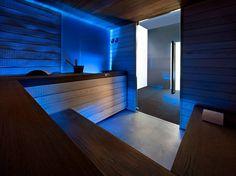 Sauna finlandesa SWEET SAUNA PRO Coleção Professional by STARPOOL | design Cristiano Mino