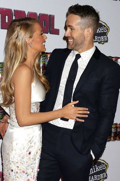Blake+Lively+and+Ryan+Reynolds+Make+Their+First+Post-Baby+Red+Carpet+Appearance  - HarpersBAZAAR.com