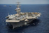 Aircraft Carrier Extends Operations in Mediterranean Sea