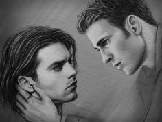 """-Come back home-  Bucky couldn't look at Steve when, just like every single time, he opened his lips to say--""""No."""""""