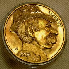 Lee Griffiths - Gylden Hvalros-Skæg (not a nickel - $50 Gold Round) Buffalo, Classic Style, Carving, Scrapbook, Gold, Wood Carvings, Sculptures, Scrapbooking, Printmaking