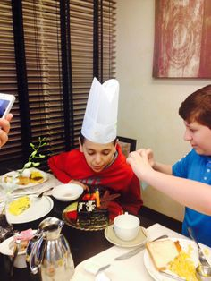 Happy Birthday 'Hamza' Today during breakfast we have celebrated birthday of our dearest guest Hamza :) A Chef's hat was presented to him with signature of Chefs. Twist Restaurant, Lunches And Dinners, Birthday Celebration, Chefs, Buffet, Brunch, Happy Birthday, Menu, Hat